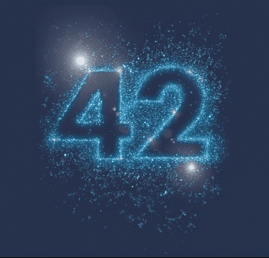 the number 42