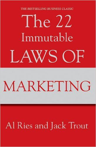 The 22 Immutable Laws of Marketing title page