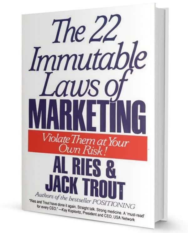 The 22 Immutable Laws of Marketing cover audio