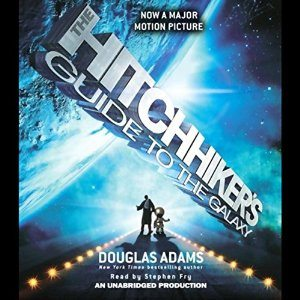 hitchhikers guide to galaxy mp3 audiobook cover