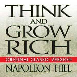 main cover of think an grow rich by napoleon hill