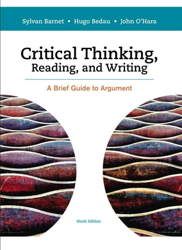 Critical Thinking, Reading and Writing: A Brief Guide to Argument pdf