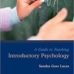 A Guide to Teaching Introductory Psychology pdf