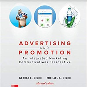 Advertising and Promotion An Integrated Marketing Communications Perspective 11th edition PDF