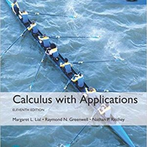 calculus with applications 11th ed