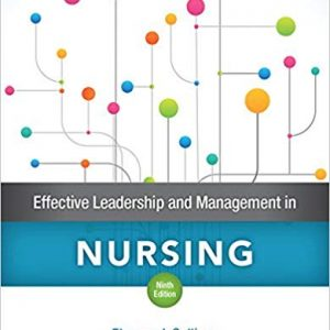 Effective Leadership and Management in Nursing (9th Edition) - eBook