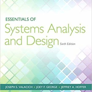 Essentials of Systems Analysis and Design (6th Edition) - eBooks