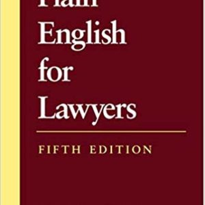 Plain English for Lawyers (5th Edition) - eBooks