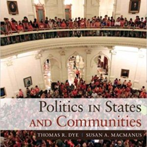 Politics in States and Communities (15th Edition) - eBooks