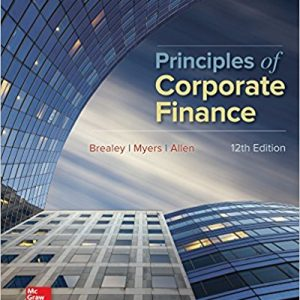 Principles of Corporate Finance (Mcgraw-hill/Irwin Series in Finance, Insurance, and Real Estate) (12th Edition) - eBook