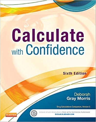 calculate with confidence 6th ed