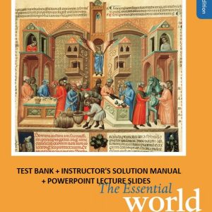 the essential world history 8e testbank and solution manual