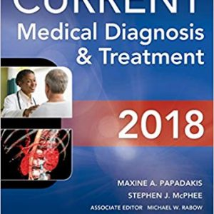 Current Medical Diagnosis and Treatment 2018, (57th Edition) - eBook