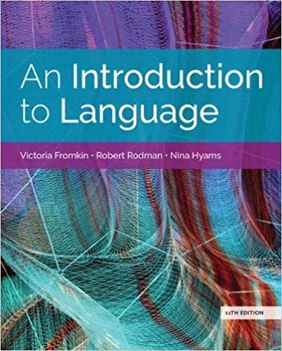 An Introduction to Language (11th Edition) - eBook