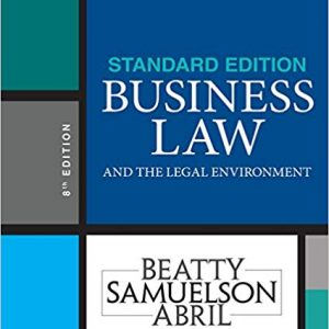 Business Law and the Legal Environment (8th Edition) - eBook