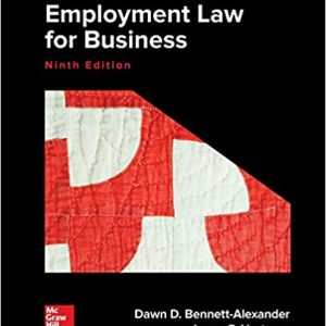 Employment Law for Business (9th Edition) - eBook