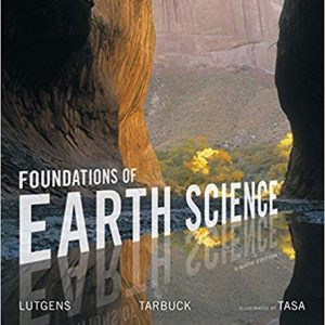 Foundations of Earth Science (8th Edition) - eBook
