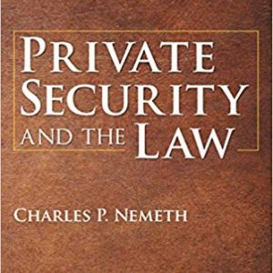 Private Security and the Law (5th Edition) - eBook