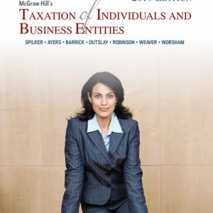 taxation of individuals and business entities 10th edition (2019)