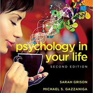 Psychology in Your Life (2nd Edition) - eBook