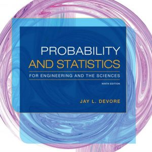 probabilty and statistics for engineering and the sciences 9e