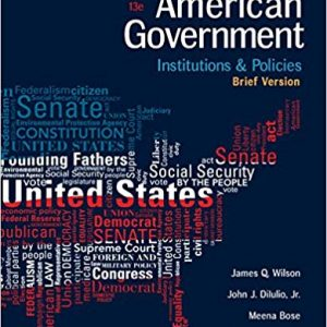 American Government: Institutions and Policies, Brief Version (13th Edition) - eBook