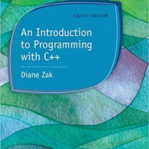 An Introduction to Programming with C++ (8th Edition) -eBook