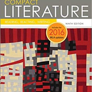 COMPACT Literature: Reading, Reacting, Writing, 2016 MLA Update (9th Edition) - eBook