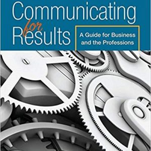 Communicating for Results: A Guide for Business and the Professions (11th Edition) - eBook