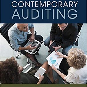 Contemporary Auditing (11th Edition) - eBook