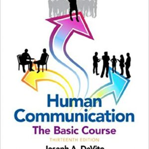 Human Communication: The Basic Course (13th Edition) - eBook
