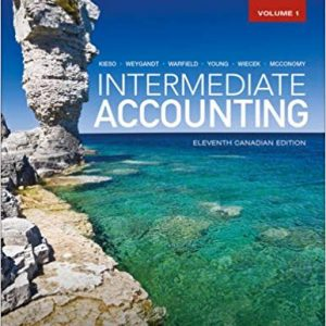Intermediate Accounting 11th edition canadian volume 1