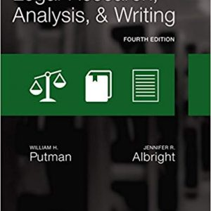 Legal Research, Analysis, and Writing (4th Edition) - eBook