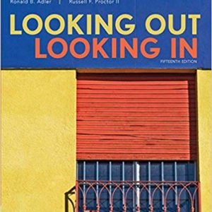 Looking Out, Looking In (15th Edition) - eBook
