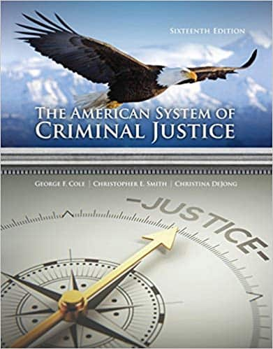 The American System of Criminal Justice (16th Edition) - eBook