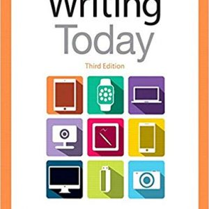 Writing Today (3rd Edition) - eBook