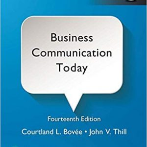 Business Communication Today (14th Edition) -eBook