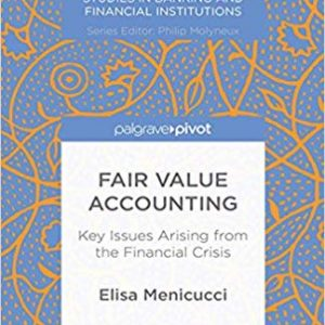 Fair Value Accounting: Key Issues Arising from the Financial Crisis (Palgrave Macmillan Studies in Banking and Financial Institutions) - eBook