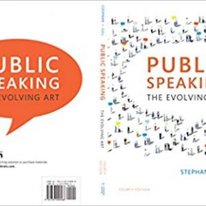 Public Speaking: The Evolving Art (4th Edition) - eBook
