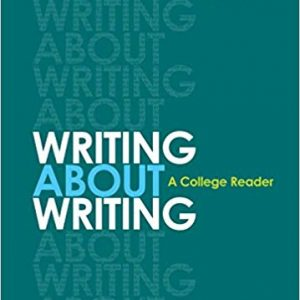 Writing about Writing (3rd Edition) - eBook