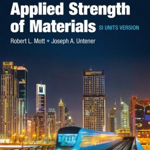 applied strength of materials si units version 6e