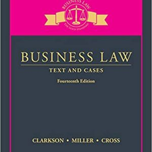 Business Law: Text and Cases (14th Edition) - eBook