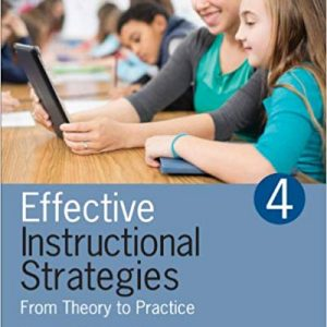 Effective Instructional Strategies: From Theory to Practice (4th Edition) - eBook