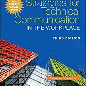 Strategies for Technical Communication in the Workplace (3rd Edition) - eBook