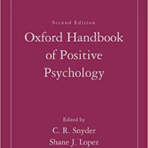 The Oxford Handbook of Positive Psychology (2nd Edition) - eBook