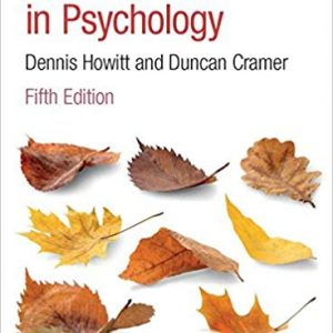 Research Methods in Psychology (5th Edition) - eBook
