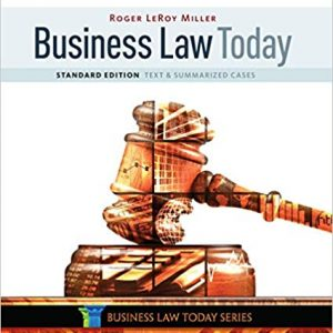 Business Law Today, Standard: Text & Summarized Cases (11th Edition) - eBook