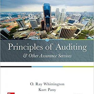 Principles of Auditing & Other Assurance Services (20th Edition) - eBook