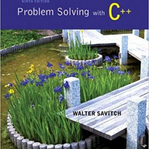Problem Solving with C++ (9th Edition) - eBook