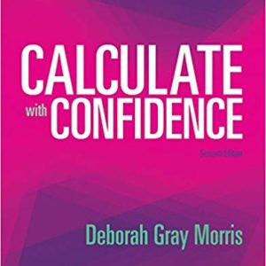 Calculate with Confidence (7th Edition) - eBook